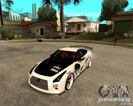Nissan Skyline R35 для GTA San Andreas