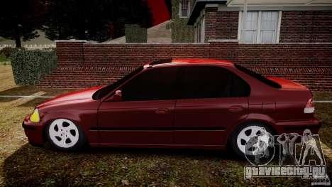 Honda Civic Vti для GTA 4 вид слева