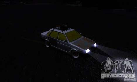 ВАЗ 21099 Rat Look для GTA San Andreas вид изнутри