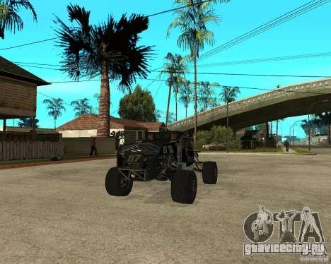 BAJA BUGGY для GTA San Andreas вид сзади слева