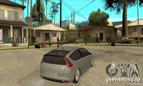 Citroen C4 VTS Coupe 2009 для GTA San Andreas вид справа