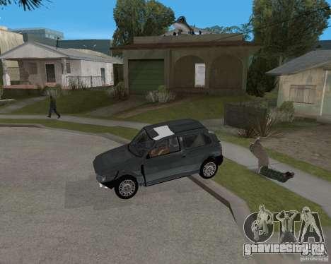 Fiat Mille Fire 1.0 2006 для GTA San Andreas вид снизу