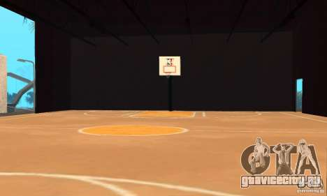 Basketball Court v6.0 для GTA San Andreas второй скриншот