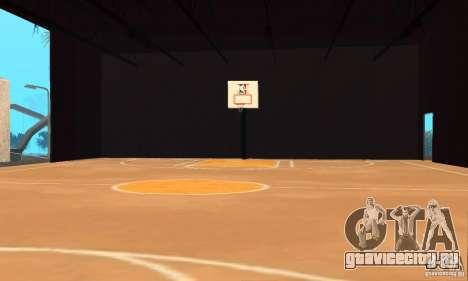 Basketball Court v6.0 для GTA San Andreas второй скриншот
