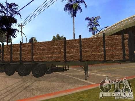 Прицеп МАЗ 99864 для GTA San Andreas вид слева