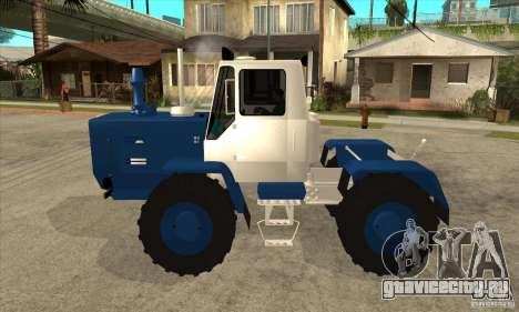Трактор Т150 для GTA San Andreas вид слева