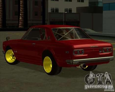 Nissan Skyline GTR 2000 для GTA San Andreas вид слева
