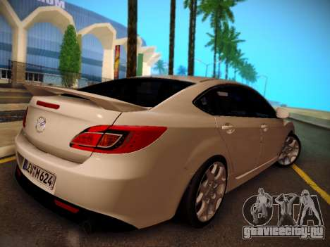Mazda 6 для GTA San Andreas вид слева