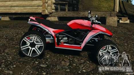 ATV PCJ Sport для GTA 4 вид слева