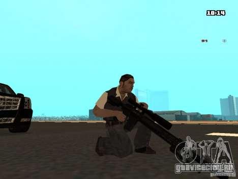No Chrome Gun для GTA San Andreas третий скриншот