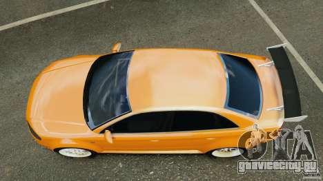 Audi RS4 EmreAKIN Edition для GTA 4 вид справа