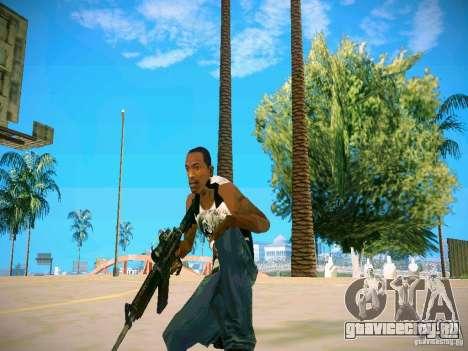 HD пак оружия для GTA San Andreas седьмой скриншот