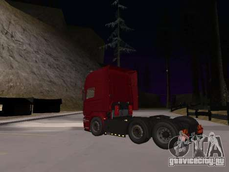 Scania 460 для GTA San Andreas вид сзади