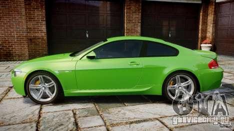 BMW M6 2010 v1.0 для GTA 4 вид слева