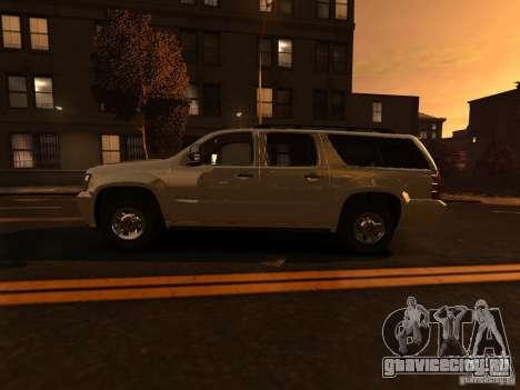 Chevrolet Suburban GMT900 2008 для GTA 4 вид слева