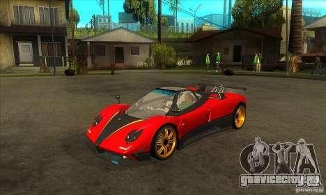 Pagani Zonda Tricolore V1 для GTA San Andreas