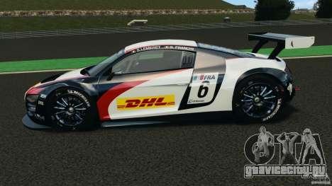Audi R8 LMS для GTA 4 вид слева
