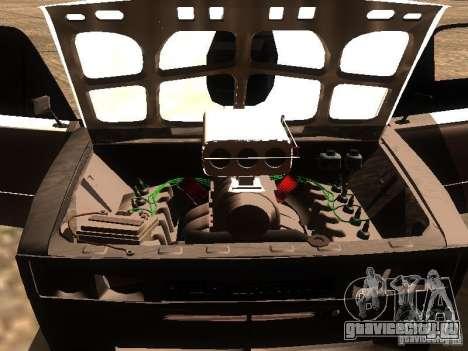 ВАЗ 2106 Drag Racing для GTA San Andreas вид сверху