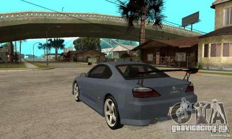 Nissan Silvia S15 Tun для GTA San Andreas