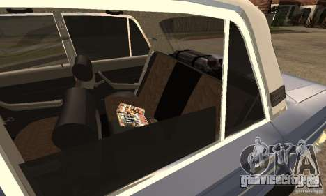 ВАЗ 2106 Old v2.0 для GTA San Andreas вид слева