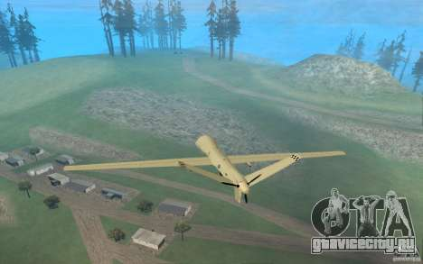 RQ9 Predator для GTA San Andreas вид слева