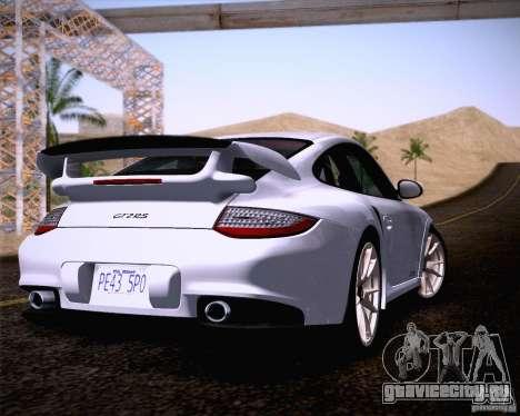 Porsche 911 GT2 RS 2012 для GTA San Andreas вид слева