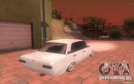 ВАЗ 2101 Tuning для GTA San Andreas вид слева