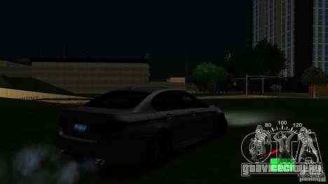 Спидометр ВАЗ 2110 для GTA San Andreas третий скриншот