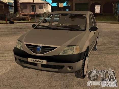 Dacia Logan 1.6 для GTA San Andreas вид сбоку
