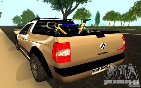Volkswagen Saveiro для GTA San Andreas вид слева