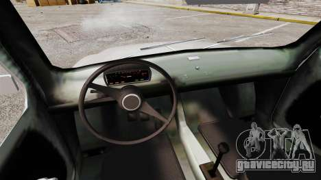 Zastava 750 для GTA 4 вид изнутри