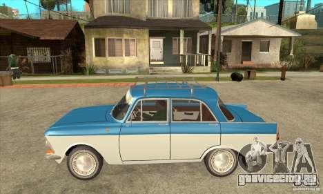 АЗЛК 408 для GTA San Andreas вид слева