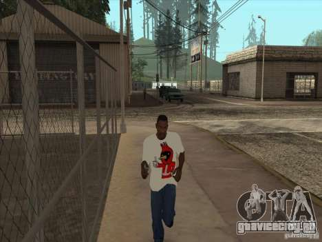 Футболка Омская птица для GTA San Andreas