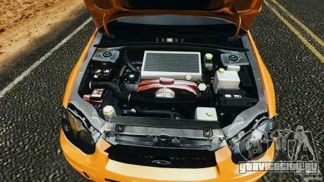 Subaru Impreza WRX STI 2005 для GTA 4 вид сверху