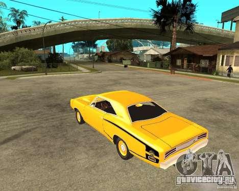 Dodge Coronet Super Bee 70 для GTA San Andreas вид слева