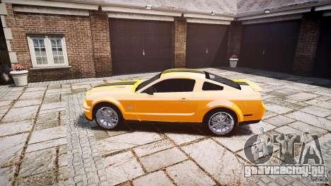 Shelby GT 500 KR 2008 K.I.T.T. для GTA 4 вид слева