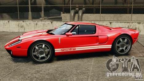 Ford GT 2005 v1.0 для GTA 4 вид слева