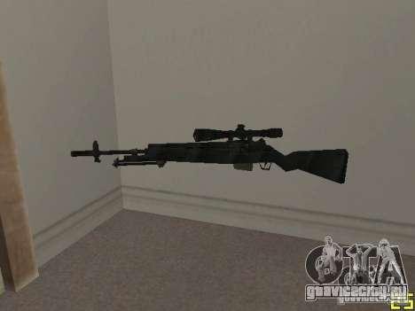 Оружие из COD MW 2 для GTA San Andreas пятый скриншот