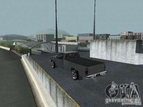Nissan Pick-up D21 для GTA San Andreas вид сзади слева
