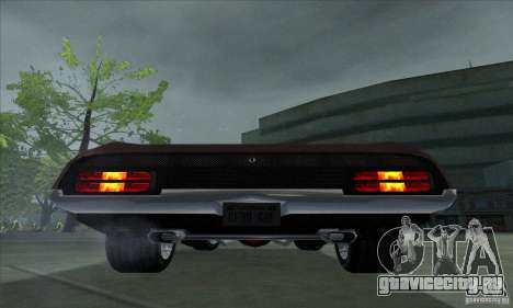 Ford Falcon GT Pursuit Special V8 Interceptor для GTA San Andreas вид справа