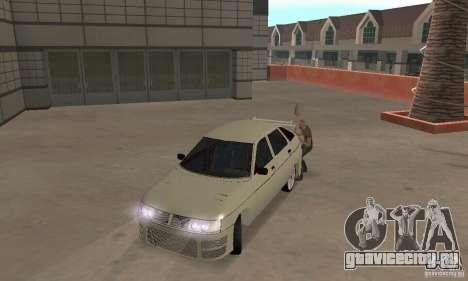 ВАЗ 2112 Tuning F для GTA San Andreas вид слева