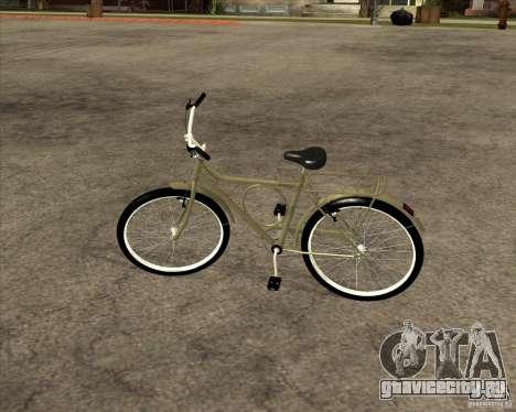 Новый велосипед для GTA San Andreas вид сзади