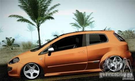 Fiat Punto Evo 2010 Edit для GTA San Andreas вид слева