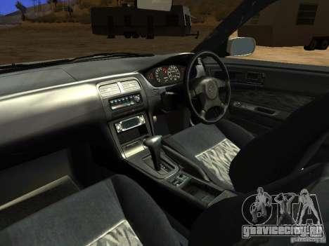 Nissan Silvia S14 JDM для GTA San Andreas вид сверху