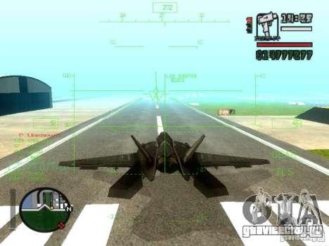 Xa-20 razorback для GTA San Andreas вид сбоку