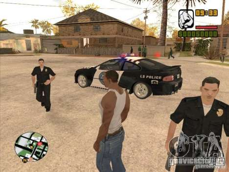 Call the Police для GTA San Andreas