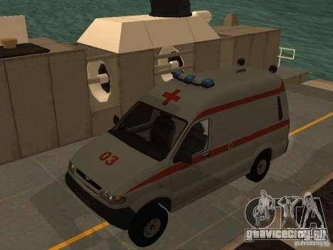 УАЗ Симба Скорая помощь для GTA San Andreas