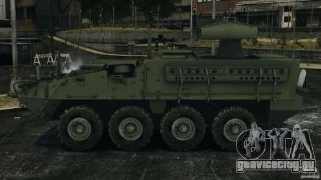 Stryker M1134 ATGM v1.0 для GTA 4 вид слева