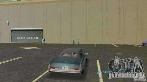 Esperanto HD для GTA Vice City вид сзади слева