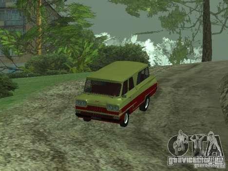 Микроавтобус Старт v1.1 для GTA San Andreas вид сзади слева